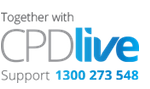 CPDlive Together logo